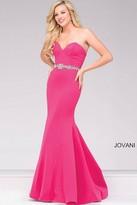 Jovani Sweetheart Neck Mermaid Prom Dress 34010