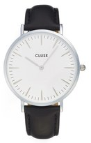 Cluse La Bohème Leather Strap Watch, 38mm