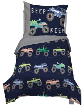 Carter's Monster Truck 4-Piece Toddler Bedding Set Bedding