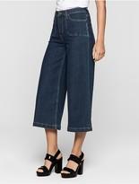 Calvin Klein Jeans Modern Surplus Denim Culottes