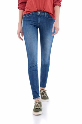 Salsa Skinny Push Up Wonder Jeans Blue