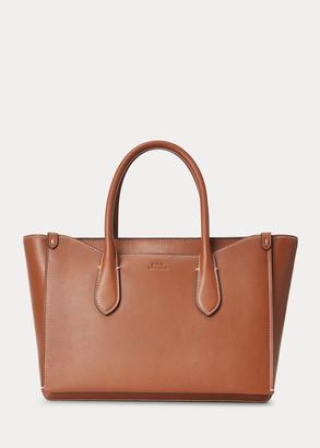 Ralph Lauren Leather Large Sloane Satchel
