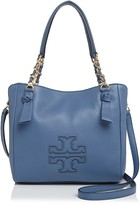 Tory Burch Harper Small Leather Satchel