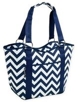 Picnic at Ascot Insulated Scoop Top Cooler Tote in Blue