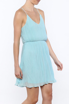 Lush Baby Blue Mini Dress