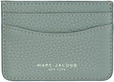 Marc Jacobs Blue Leather Gotham Card Holder