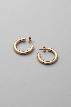 Weekday Thick Hoop Earrings - Gold