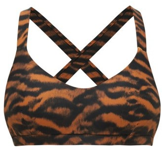 The Upside Sophie Tiger-print Sports Bra - Womens - Animal
