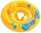 Intex My Baby Float with Pillow Backrest in Yellow
