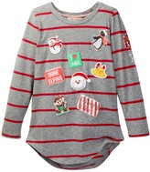 Poof Christmas Patches Tee (Big Girls)