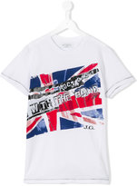 John Galliano flag print T-shirt - kids - Cotton - 14 yrs