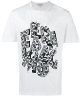 Salvatore Ferragamo letter print T-shirt