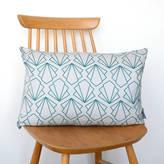 Joanna Corney Grey Sunbeam Cushion
