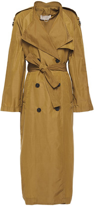 Vanessa Bruno Leon Belted Cotton-blend Trench Coat