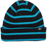 Paul Smith Men's Striped Rib-Knit Lambswool Beanie-BLACK