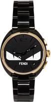 Fendi Black and Gold Momento Bugs Watch