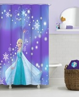 Jay Franco Frozen Elsa Snowflake Shower Curtain