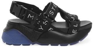 Stella McCartney Logo Strap Platform Sport Sandals