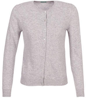 Benetton SATIDEL women's Cardigans in Grey