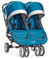 Baby Jogger City Mini® Double Stroller in Teal/Grey