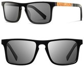 Shwood 'Govy' 52mm Wood Sunglasses