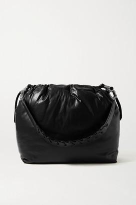 Isabel Marant Baggara Large Leather Shoulder Bag - Black