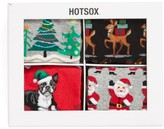 Hot Sox Women's Holiday Socks Gift Set