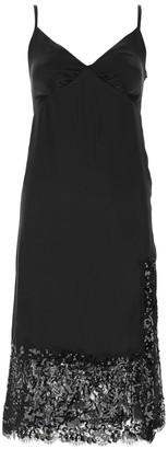 MICHAEL Michael Kors Lace Embellished Trim Slip Dress