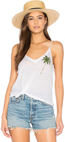 Chaser Palm Tree Tank in White. - size L (also in )