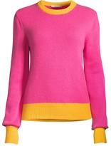 Tory Burch Colorblock Cashmere Sweater