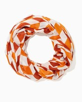 Charming charlie Chevron Sequin Infinity Scarf