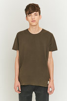 Nudie Jeans Bunker Green O-neck T-shirt