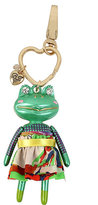 Betsey Johnson Holiday Giving Frog Keychain