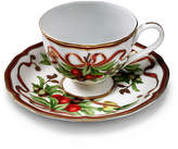 Tiffany & Co. HolidayTM cup and saucer