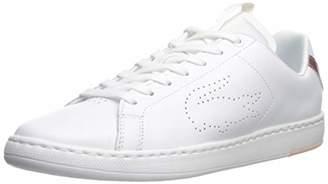Lacoste Women's Carnaby EVO Sneaker 7 Medium US