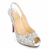 Silver Glitter Sling