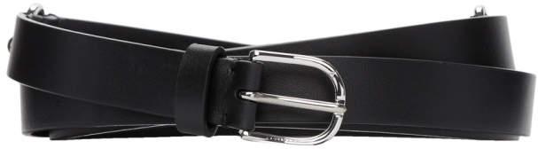 Altuzarra Black Triple Wrap Belt