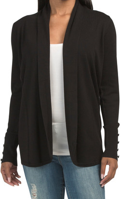 Draped Front Duster