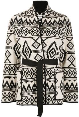 Etoile Isabel Marant Belted Navajo Coat