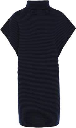 Victoria Victoria Beckham Ribbed Wool Turtleneck Mini Dress