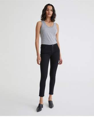 AG Jeans The Legging Ankle - Overdye Black