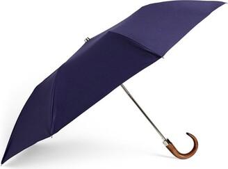 LOCKWOOD Wood Handle Telescopic Umbrella