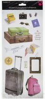 Sandylion Travel Sticker, 5.5 by 12-Inch