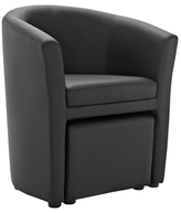 Modway Divulge Armchair and Ottoman Set (2 PC)