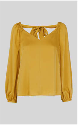 Whistles Lila Tie Back Blouse