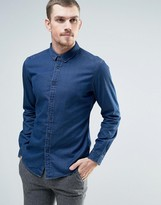 Esprit Denim Shirt in Gray Wash
