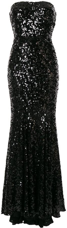 Dolce & Gabbana sequin fishtail dress