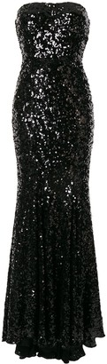 Dolce & Gabbana Sequin Fishtail Dress