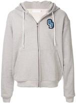 Off Duty Burg oversized zip-up hoodie