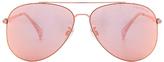Seafolly Hiva Oa Sunglasses in Metallic Copper.